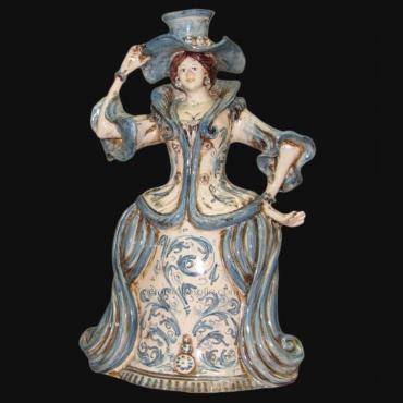 Centerpiece in artiginal Ceramic of Caltagirone