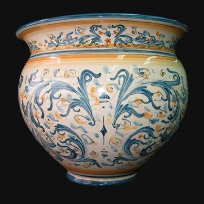 Gallina in ceramica