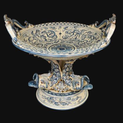 Testa di Moro a Candeliere  Modellato in Monocromia Altezza 42 - Donna